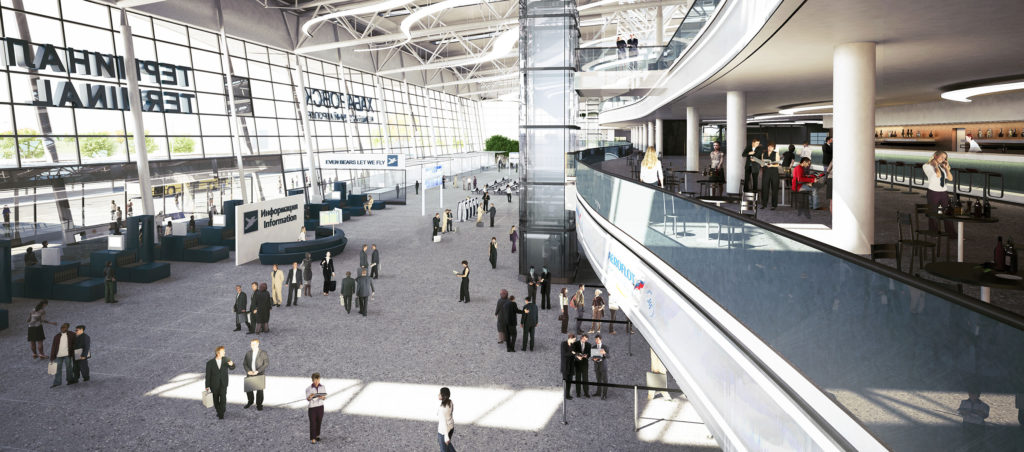 Аэровокзальный комплекс международного Аэропорта «Новый»