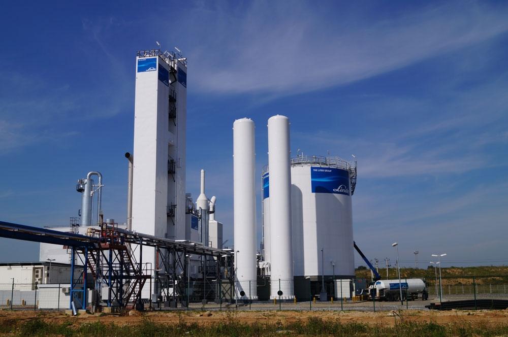 Воздухоразделительная установка завода ЛИНДЕ-ГАЗ
